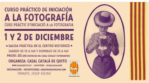 Curso de iniciación a la fotografía | Curs de iniciació Fotografía