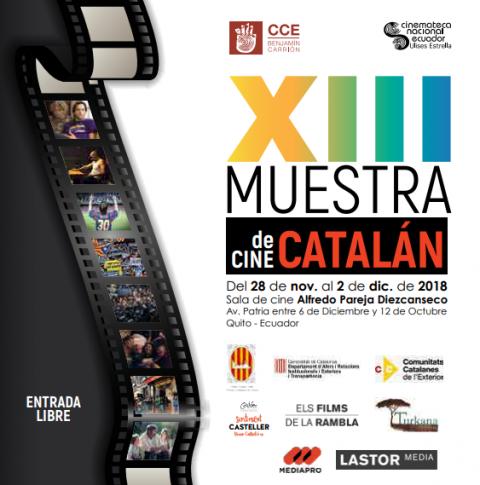 XIII Muestra de Cine Catalán de Quito