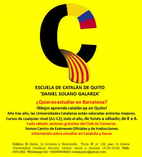 Cursos de catalán 4º trimestre