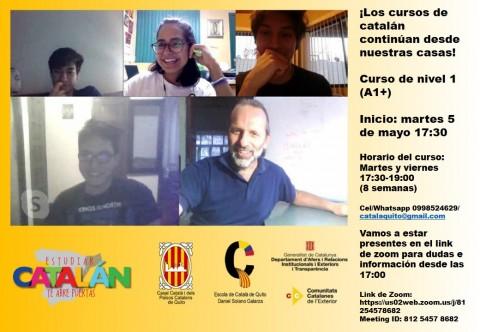 Inicio de curso de catalán de nivel A1+