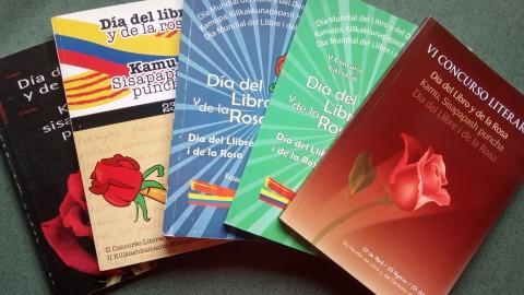 Bases del VIII concurs Dia del Llibre i de la Rosa en català