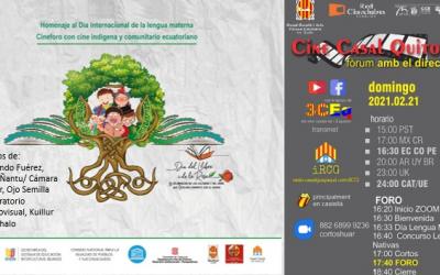 Cine Indígena y Comunitario en homenaje al Día de la Lengua Materna
