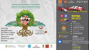 Cine Indígena y Comunitario en homenaje al Día de la Lengua Materna @ Zoom