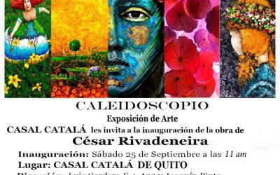 Exposición de Arte de César Rivadeneira se prolonga hasta sábado 2 de octubre