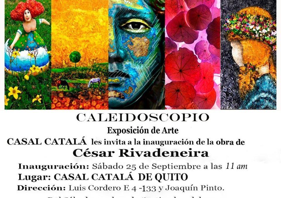 exposición César Rivadeinera